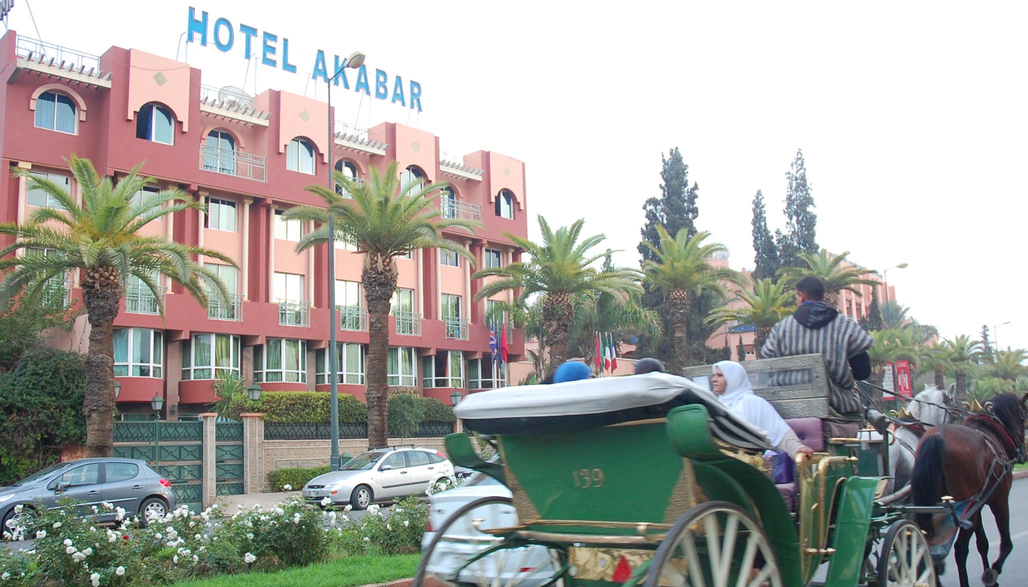 Bonne affaire: Une nuit pour 2 personnes en chambre double en demi-pension à l'hôtel Akabar 3* Marrakech à 459 Dhs seulement!