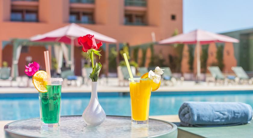 Ne Ratez pas cette offre: Une nuit pour 2 adultes + 2 enfants à Hotel Ryad Mogador Gueliz & Spa 4* seulement à 499 dh!!