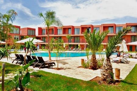 Profitez d une nuit pour 2 adultes +1 enfant (-10 ans) en DP à Hotel Rawabi & Spa 4* luxe Marrakech seulement à 687 dh!!!