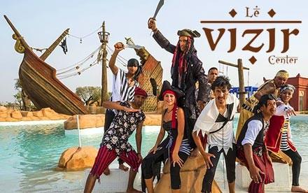 Séjour en famille ou entre amis pour 4 personnes + 2 enfants (-12ans) en DP au Vizir Center Park seulement à 1950 dhs!!!!