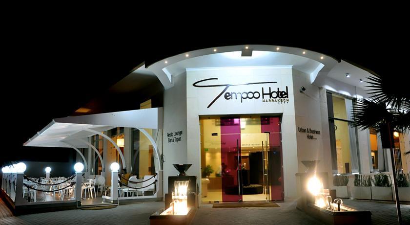 Interdit aux enfants, au cœur de la ville rouge, hôtel 4* chic Tempoo Marrakech City Center pour 2 adultes seulement à 486 DH!!