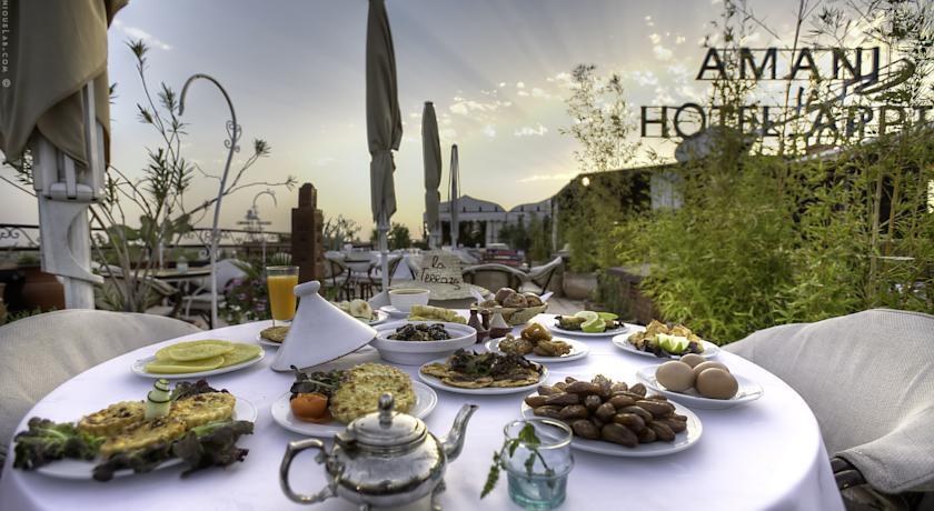 Une nuit pour 4 adultes avec Pdj à Appart Hotel Amani Bd Mohamed VI seulement à 749 dh !!!
