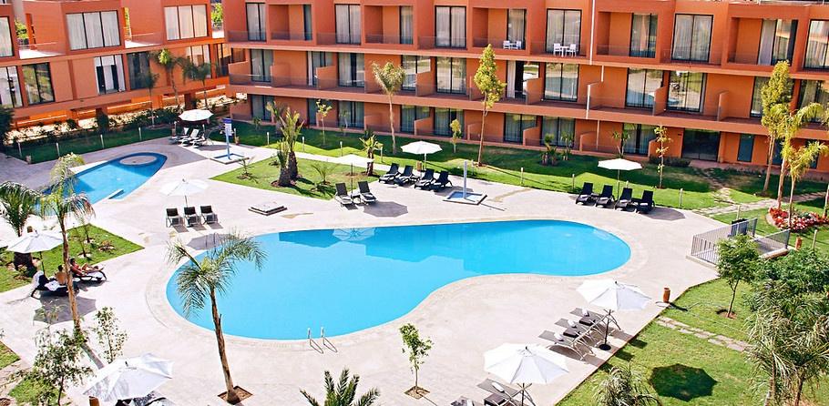 Une nuit pour 2 adultes + 1 enfant (-10 ans) en All-in Soft à Hotel Rawabi & Spa 4* Luxe seulement à 999 dh!
