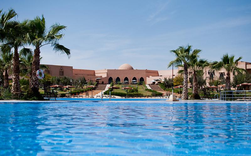 Profitez d une nuit pour 2 pax +1 enfant -12 ans en All in à Hotel Marrakech ryads parc seulement à 1180dh !!