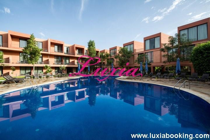 Profitez d un séjour à Hotel Rawabi 4* Marrakech pour 2 adultes +1 enfant (-10 ans) en chambre double BB à seulement 549 DH