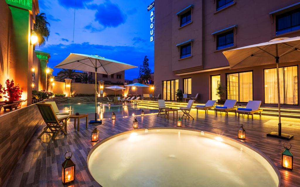 Offre Inedite à Marrakech , hotel 4* Ayoub & Spa Maarakech à deux + 1 enfant seulement à 588 dh!